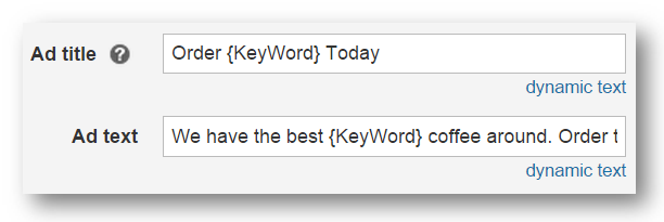 Dynamic search ads and keyword insertion - Microsoft Advertising