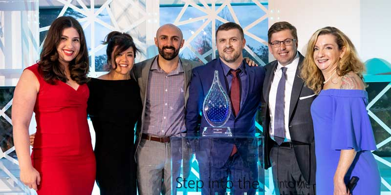 El equipo de Logical Position recibe el premio Global Partner of the Year de Microsoft Advertising.