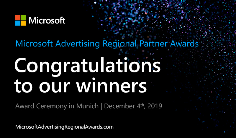 Regional Partner Award winners announcement