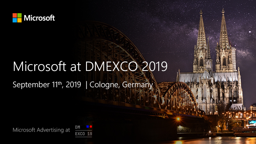Microsoft Advertising at DMEXCO