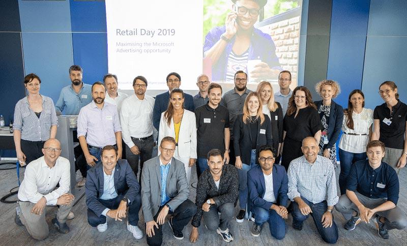 Microsoft Advertising team in Munich