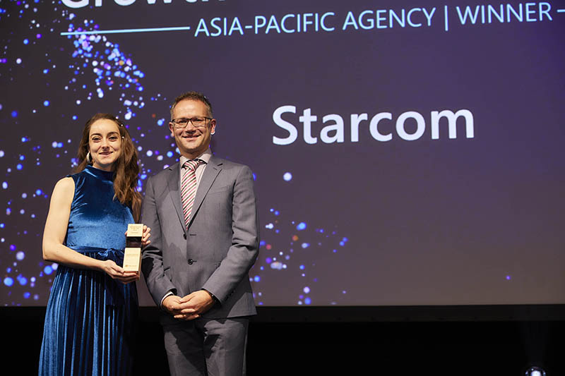Agency Growth Hacker of the Year award winner: Starcom.
