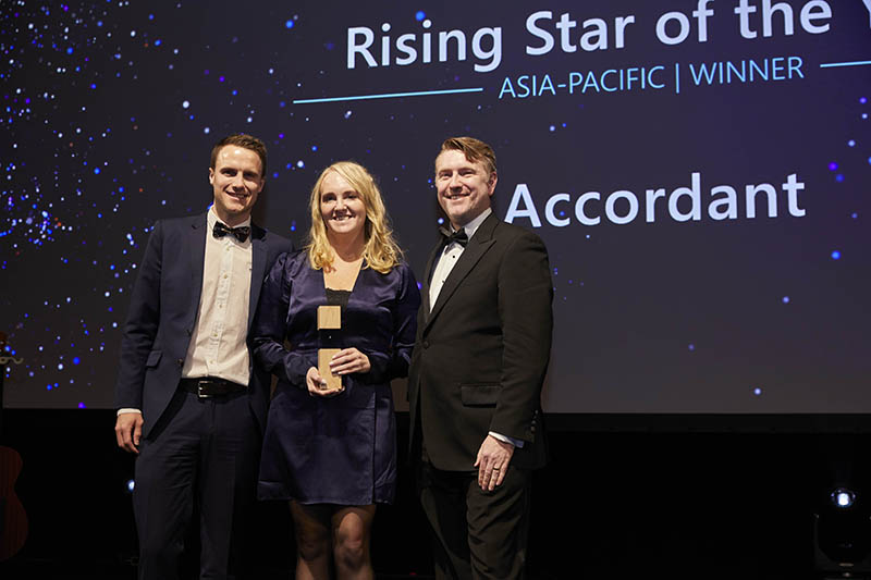 Rising Star of the Year award winner: Accordant.