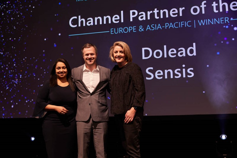 Channel Partner of the Year award winner: Sensis.