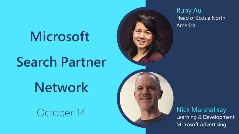 Microsoft Search Partner Network bootcamp.