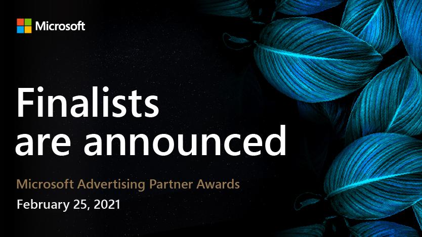 Microsoft Advertising Partner Awards 2021