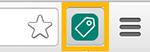UET Tag Helper icon in Chrome bar