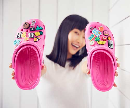 Crocs Classic clog with personalization