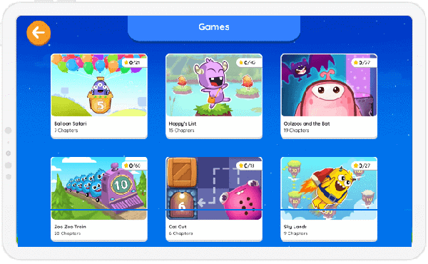 Engaging games and interactive worksheets on SplashLearn.