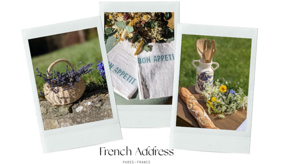 Examples of French Address product offerings.
